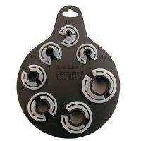 Leitungsverbinder-Löseclip-Satz - 7-tlg. - BGS